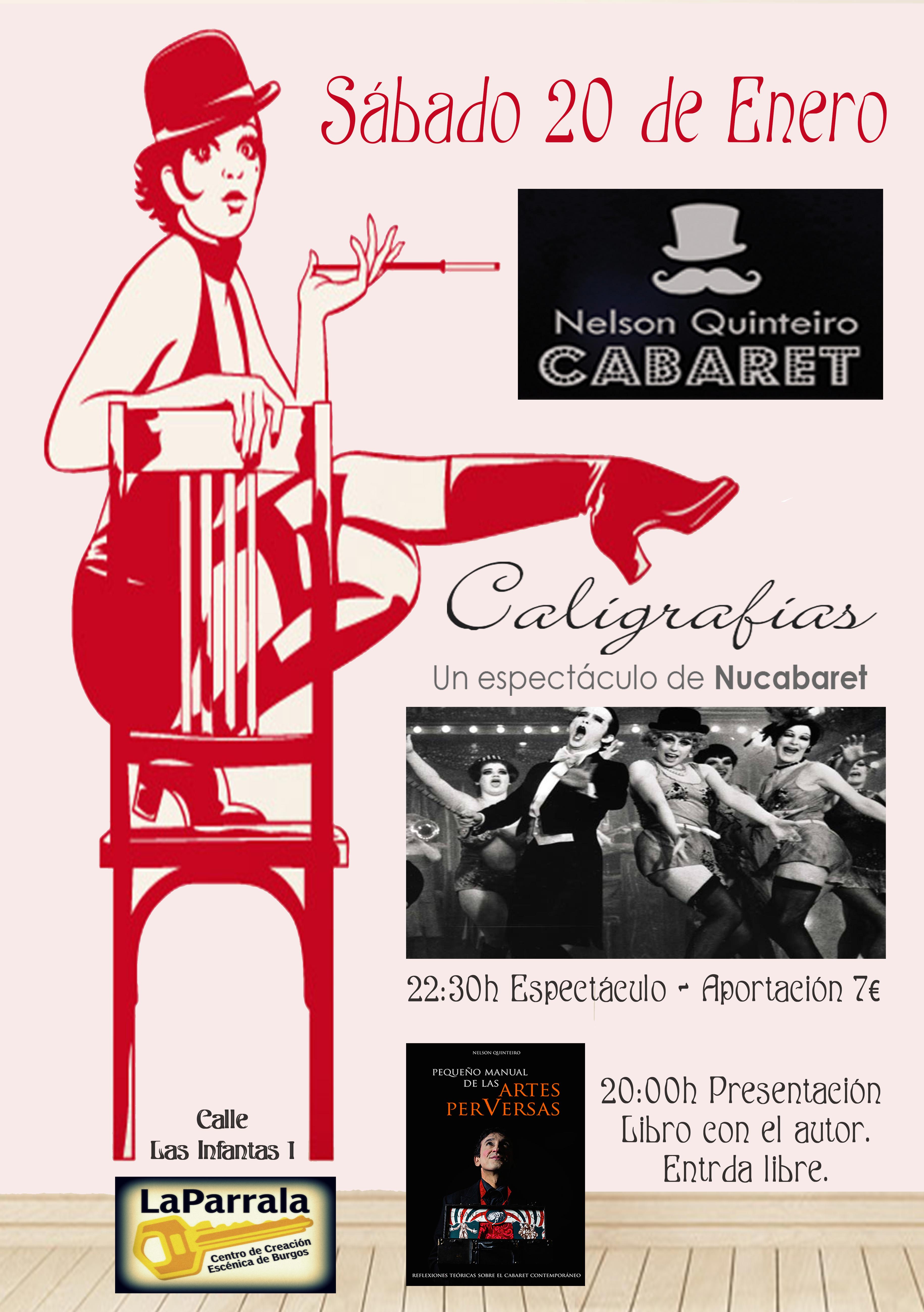 Noche Cabaret 20 de Enero La Parrala