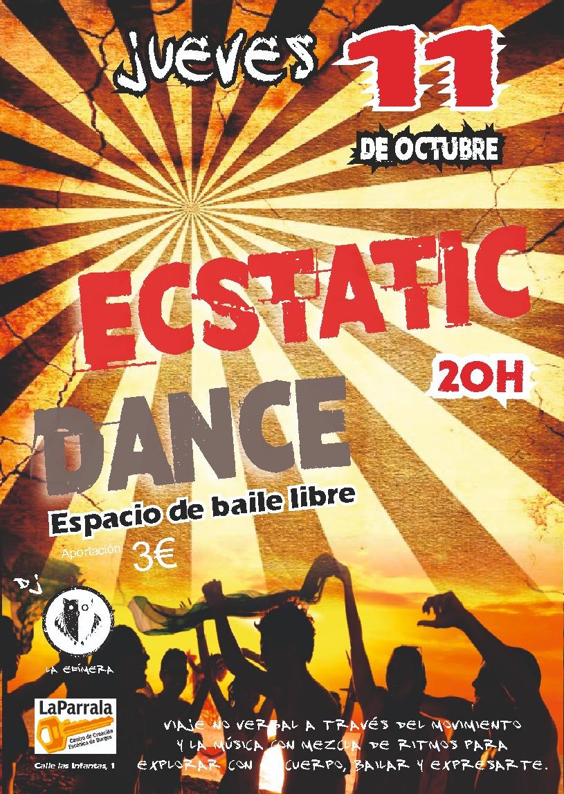 Ecstatic dance jueves 11 octubre
