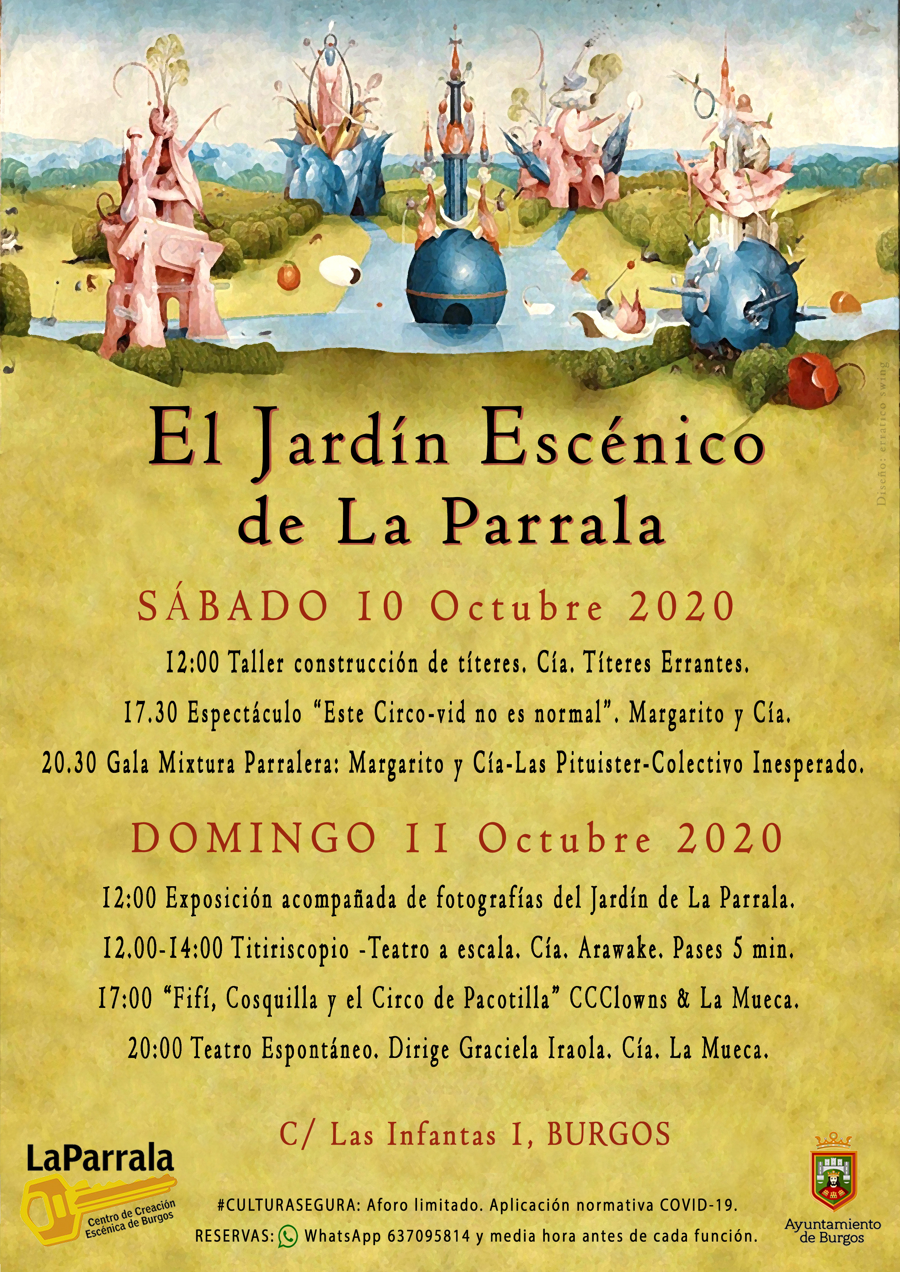 OPCION B PROGRAMACION A3 El JARDIN ESCENICO 2020