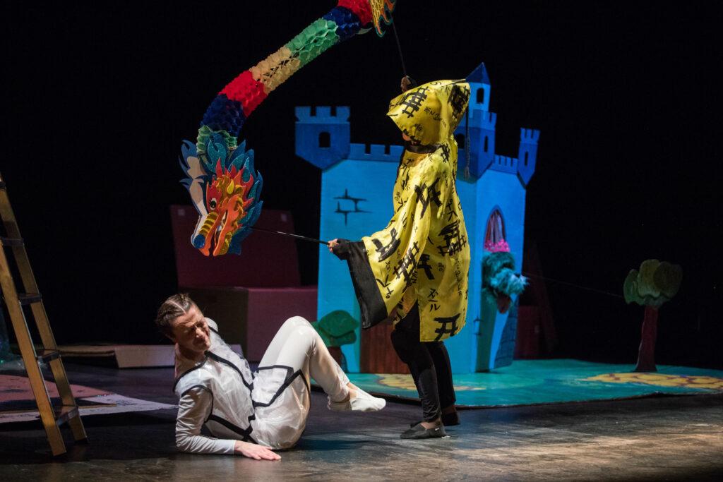 """Producción de Adalí Teatro con Ori Estéban y Tati Sastre de la obra """"De mayor quiero ser... persona"""" Estreno en el Teatro Principal."""